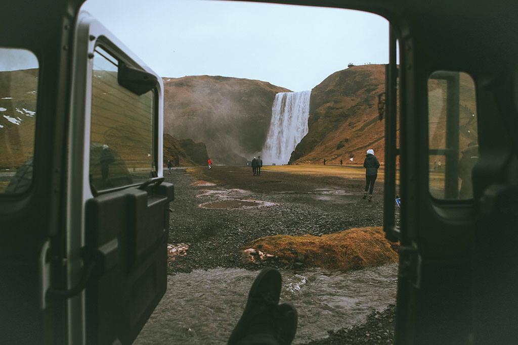 Бесплатная парковка в Исландии