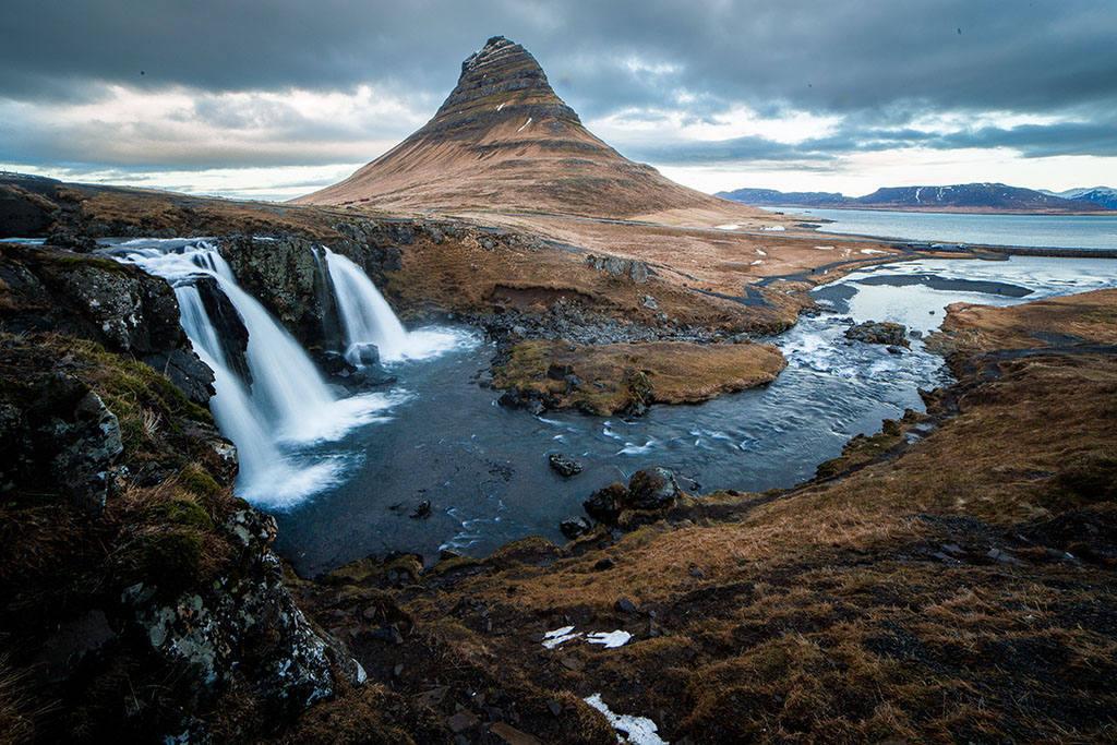 Золотое кольцо Исландии — Маршрут на карте