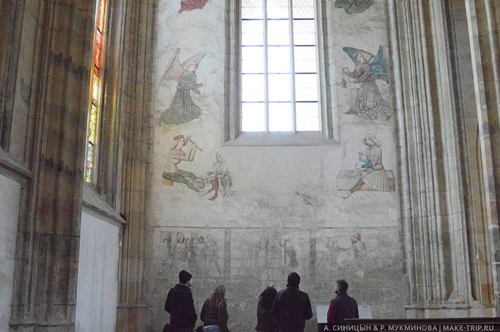 собор святой варвары в кутна горе