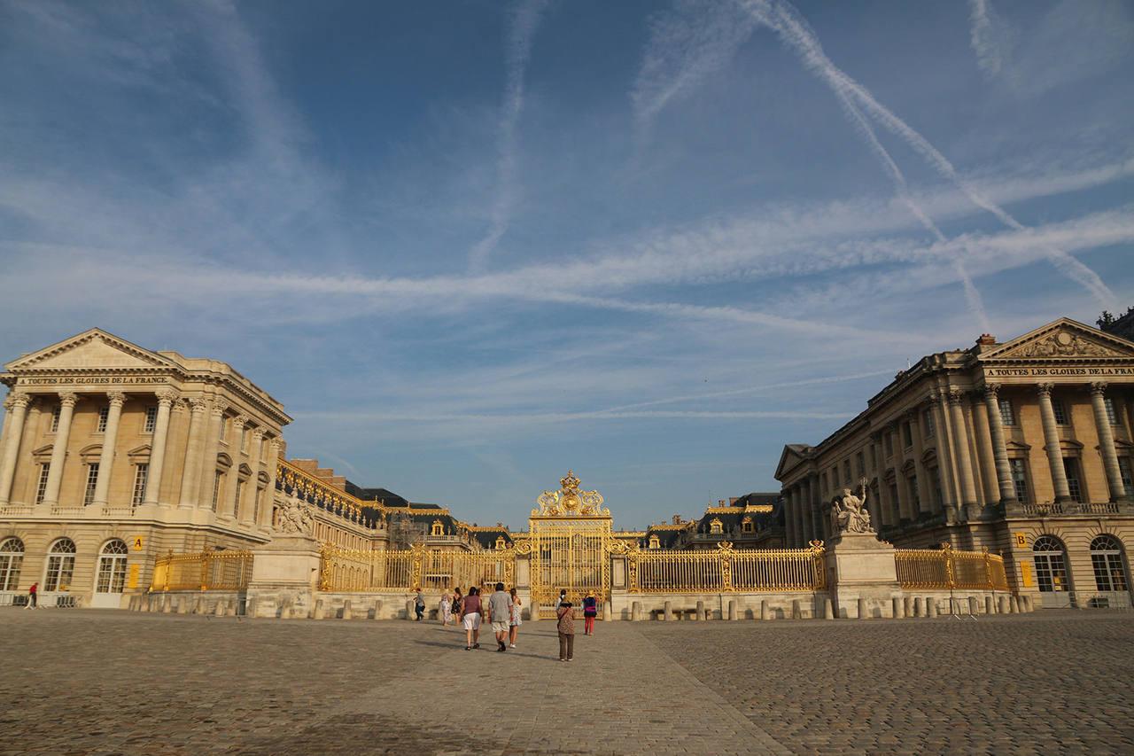 Достопримечательности Версаля в Париже