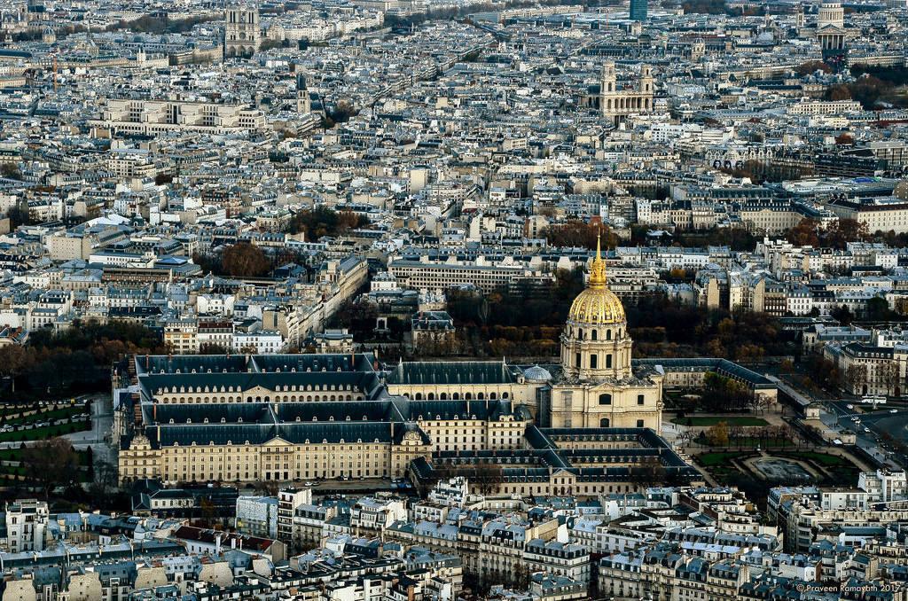 Интересные места в Париже