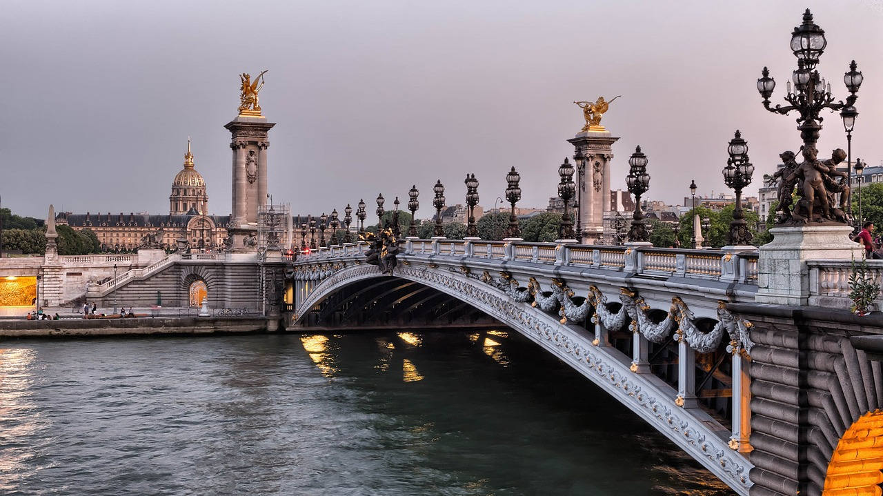 Интересные места в Париже во Франции