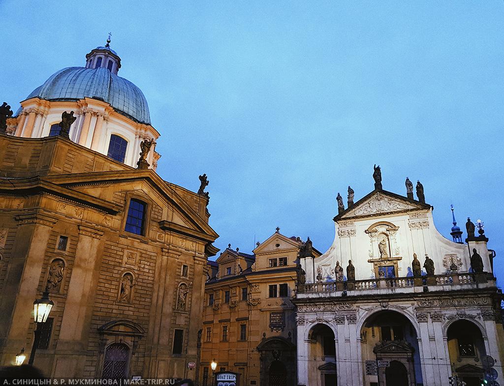 Достопримечательности в Старом городе в Праге