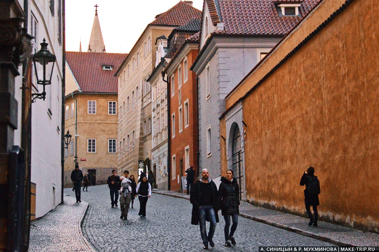 Экскурсия в Пражский Град
