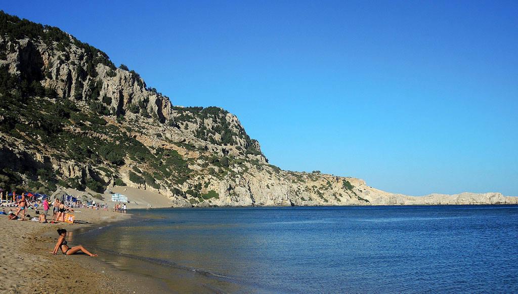 Отличный пляж на Родосе для отдыха