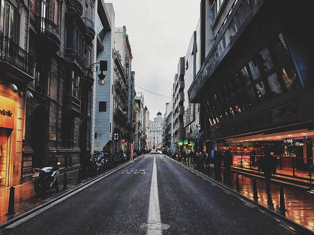 Качество дорог в Испании