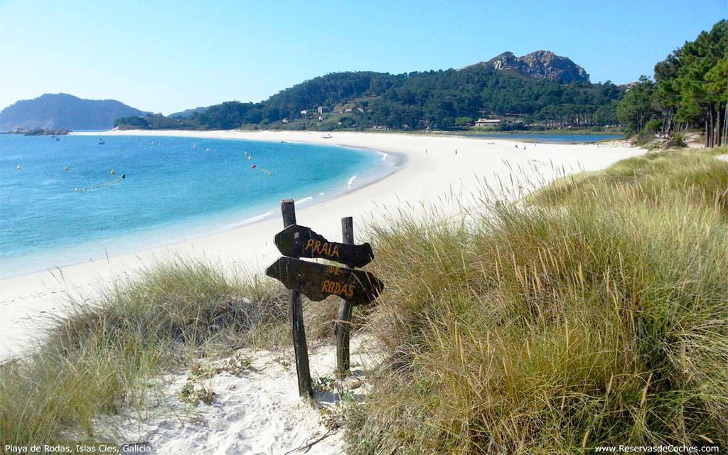 Пляжи Испании с белым песком