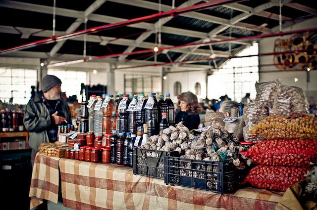 цены на рынках абхазии