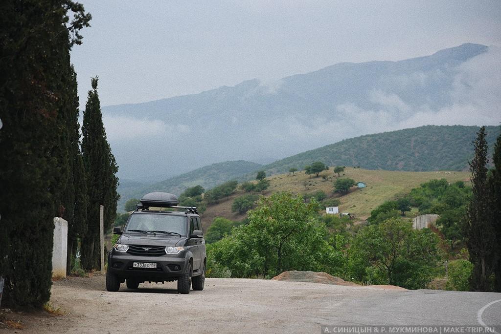 Автопутешествие в Крым