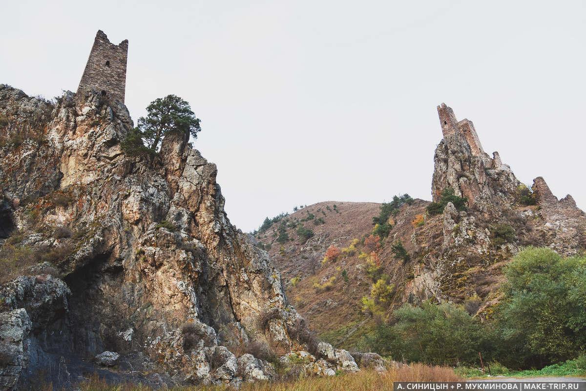 Сторожевые башни Ингушетии