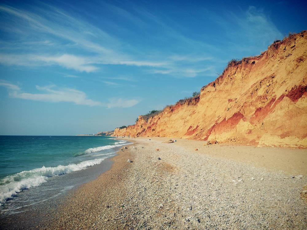 нудистский пляж в крыму