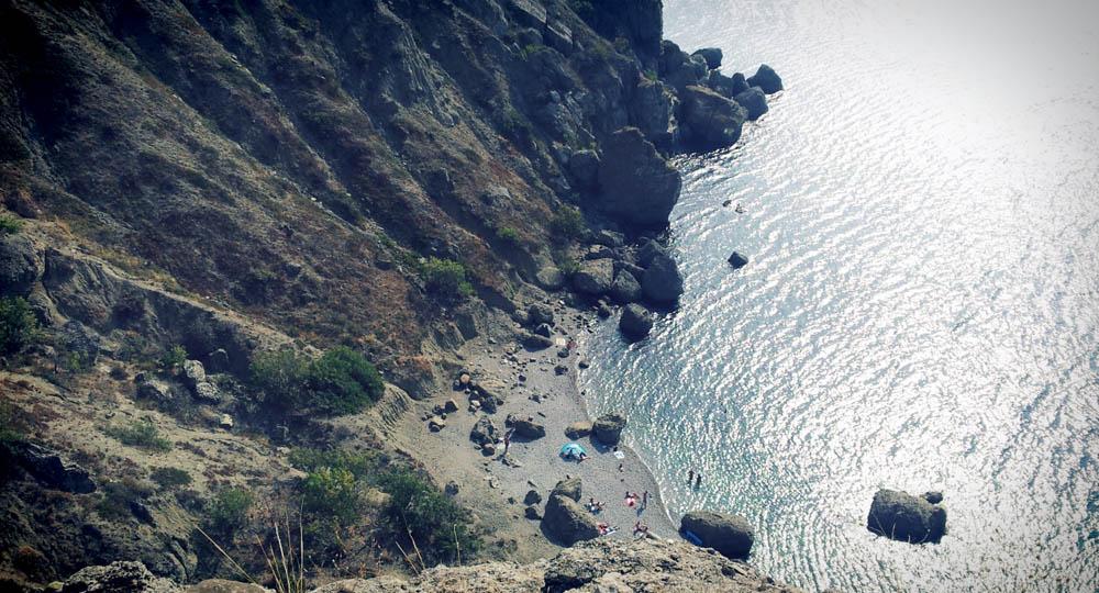 пляж в судаке, меганом