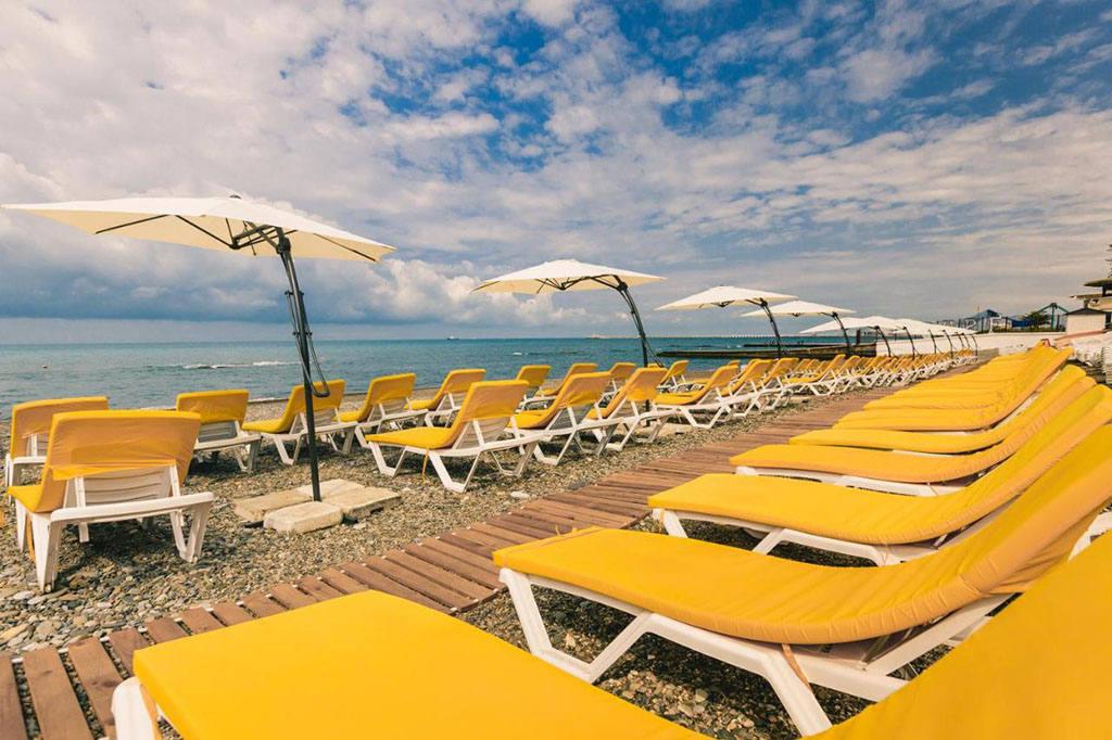 Лучшие пляжи в Сочи по отзывам туристов