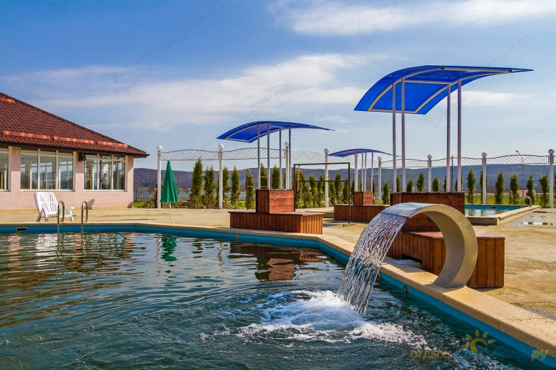 Термальные источники в Водной ривьере в Адыгее
