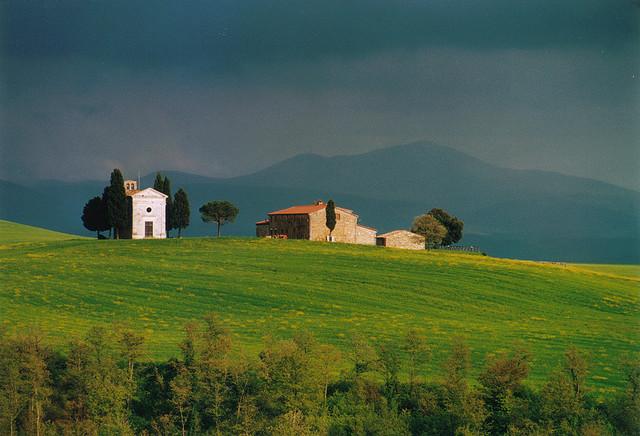 Италия. Пейзаж. Фото