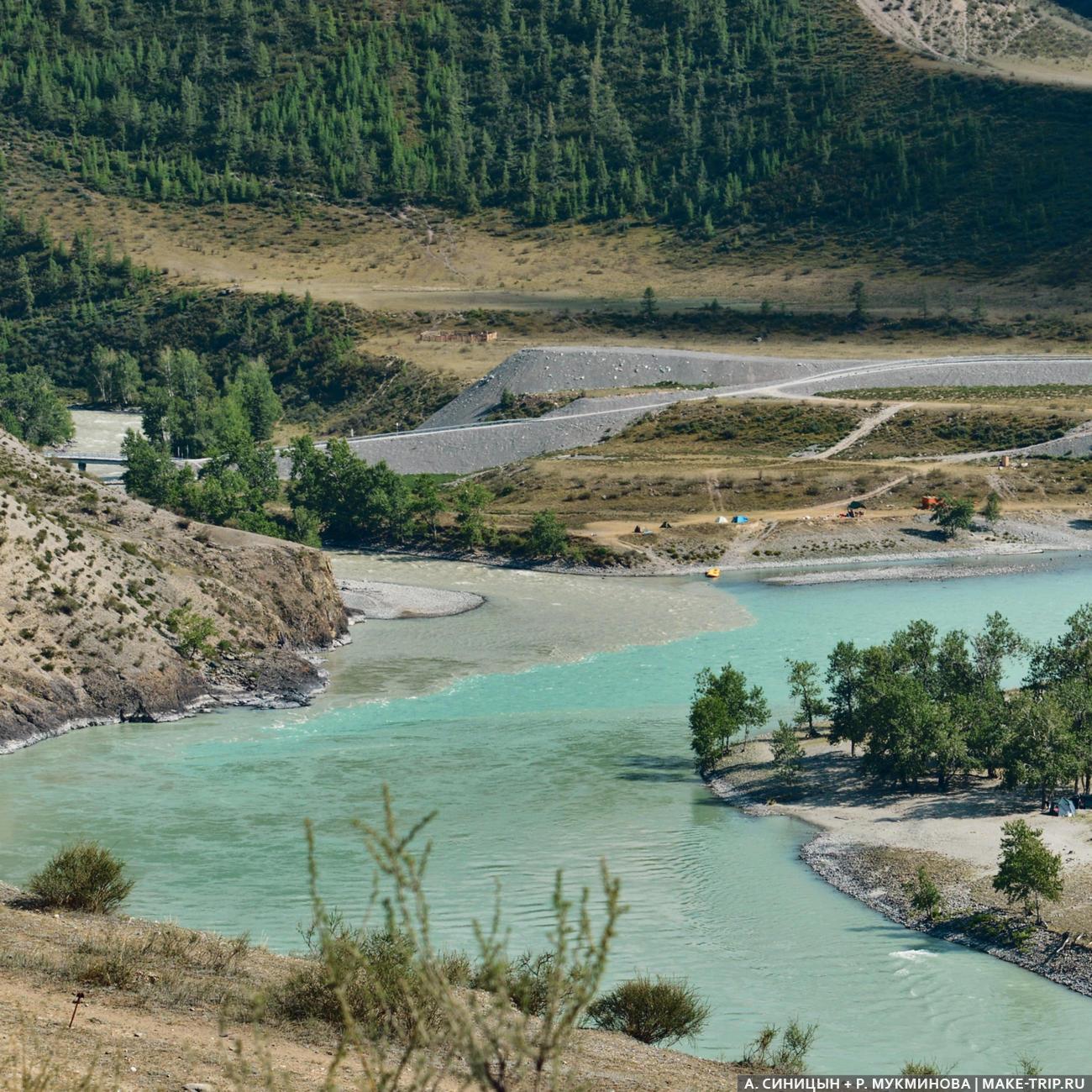 Чуя и Катунь, Горный Алтай