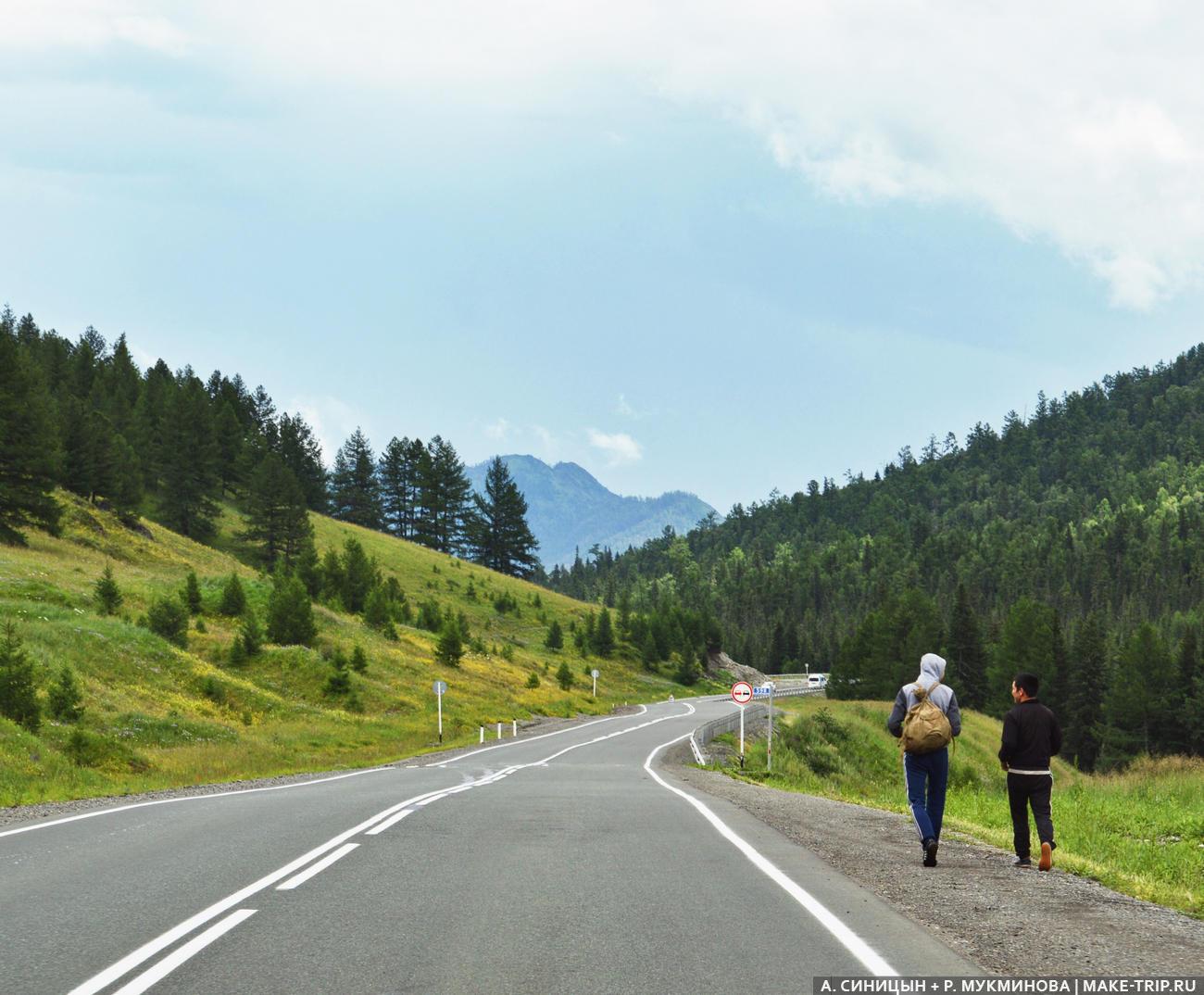 Семинский перевал, Горный Алтай