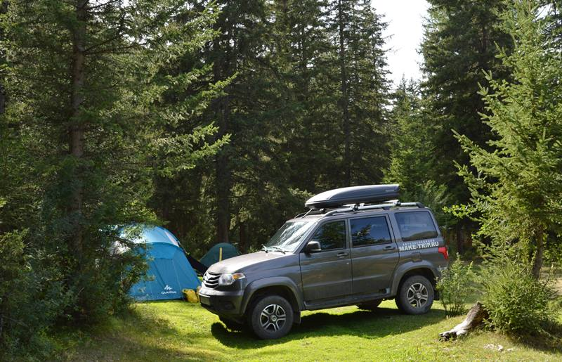 горный алтай в палатках