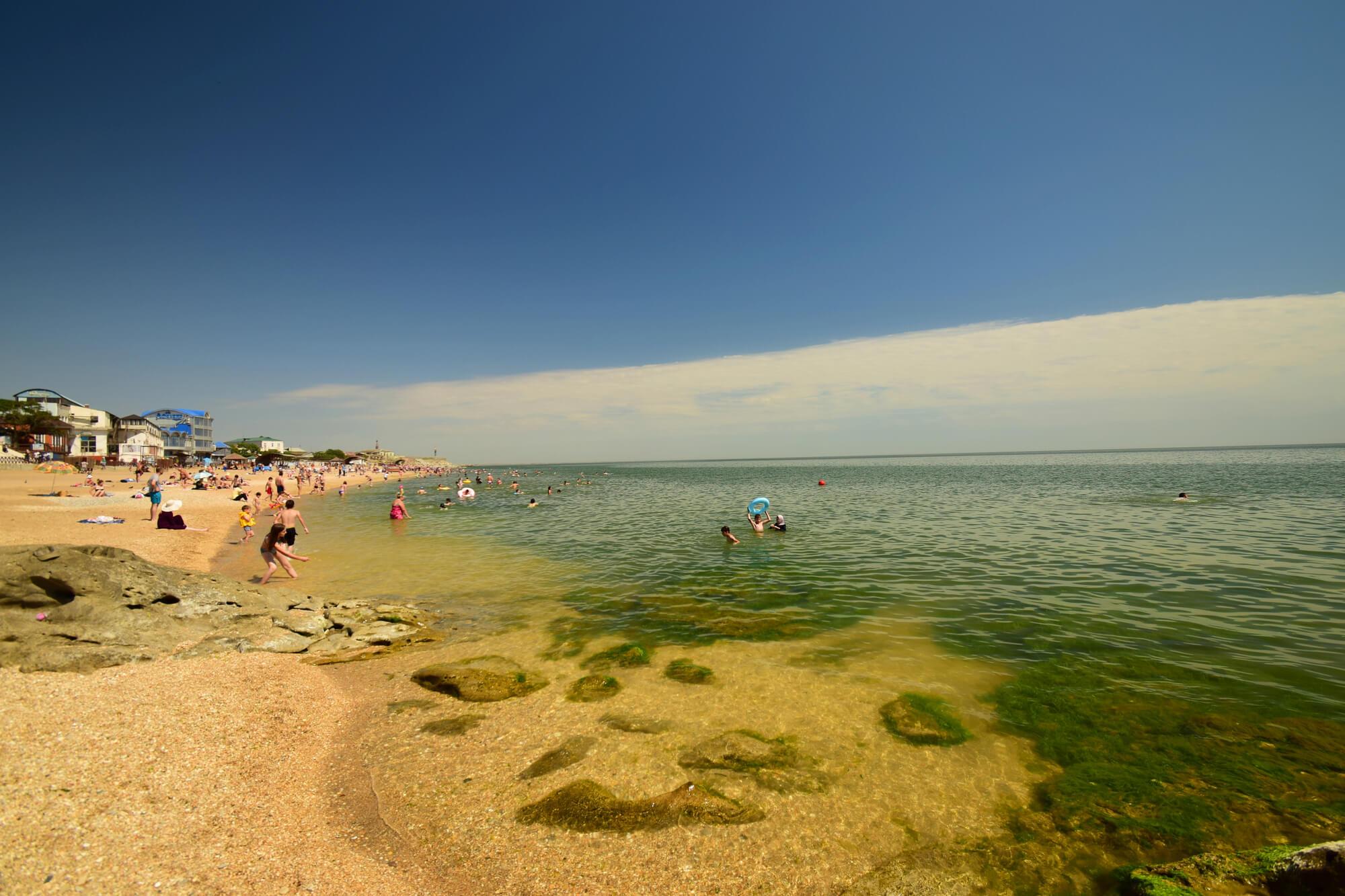 Песчаные пляжи Каспийского моря