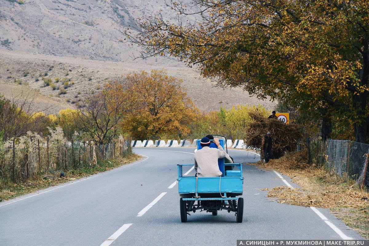 Дороги в Дагестане