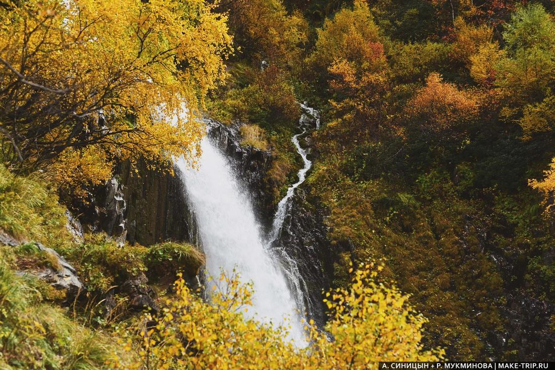Чучхурские водопады в Домбае