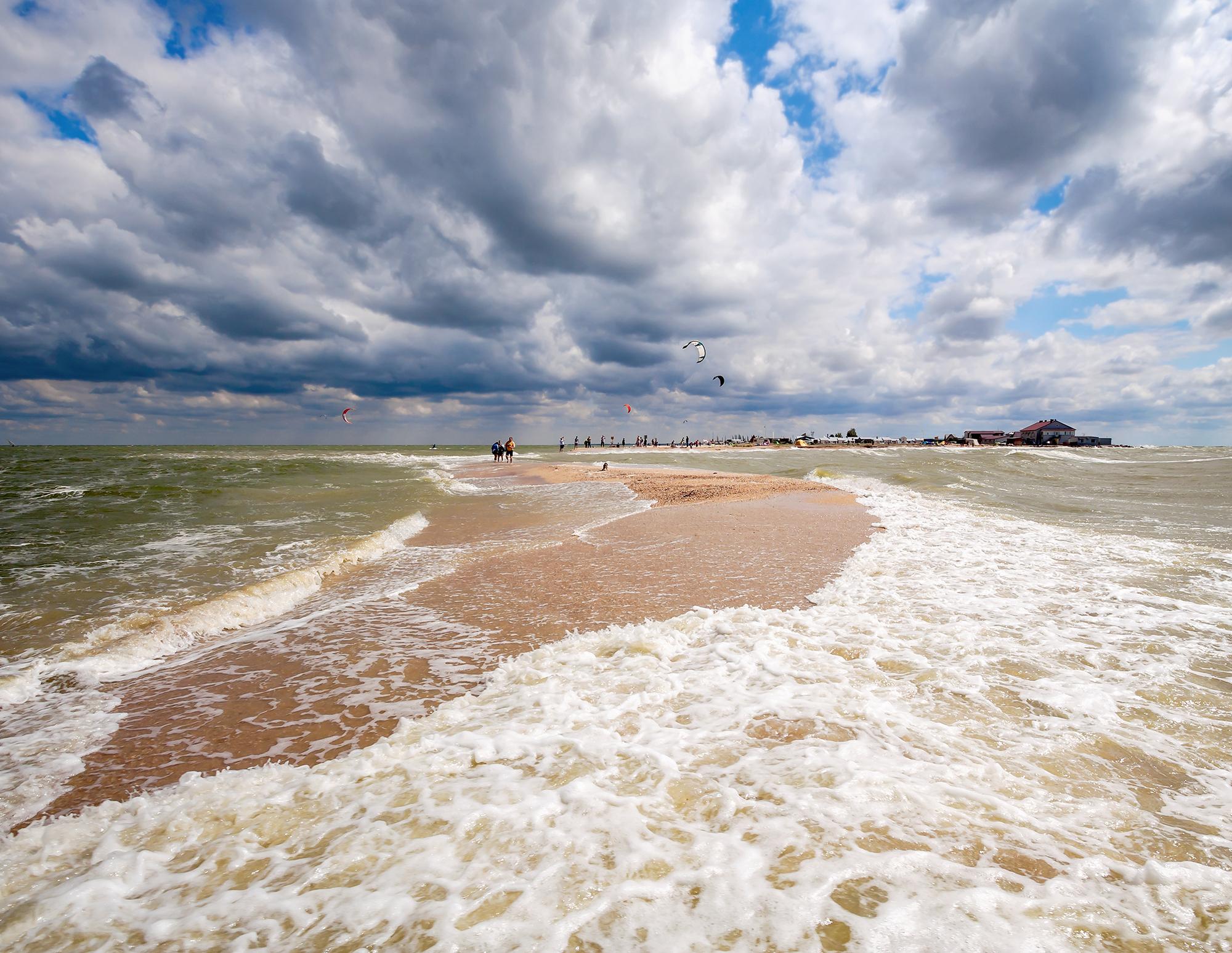 Где в Краснодарском крае песчаные пляжи