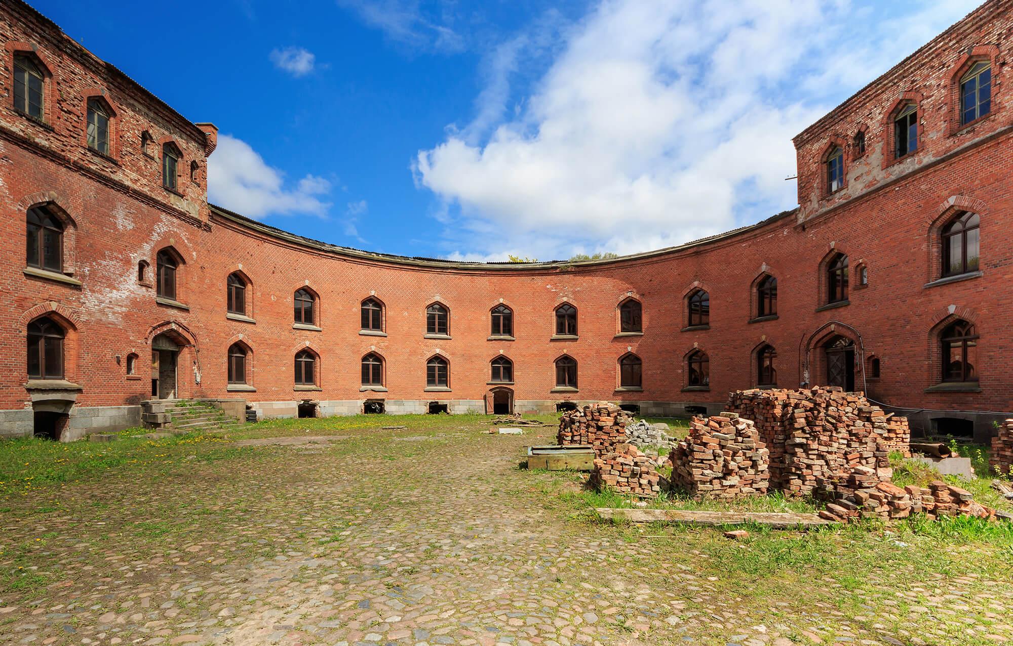 Крепости в Калининграде