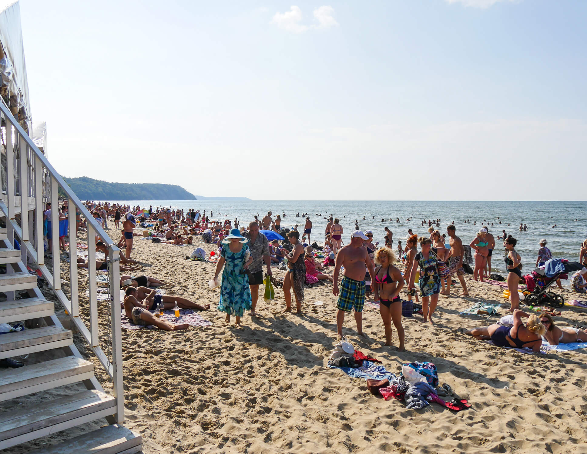 Пляжи в Светлогорске
