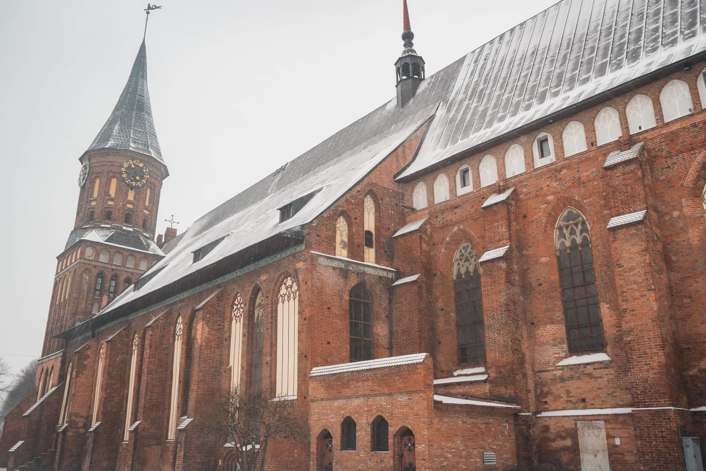 Погода в Калининграде зимой