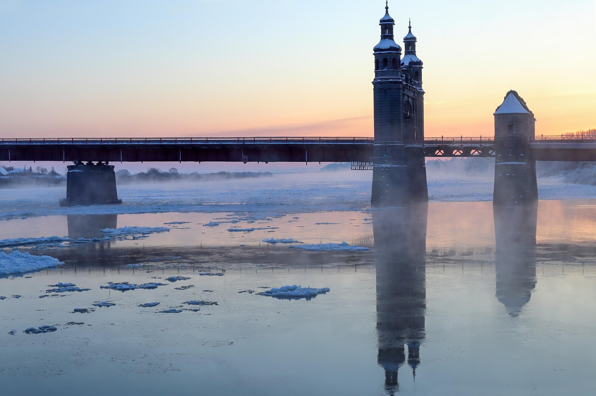 Отдых в Калининграде зимой