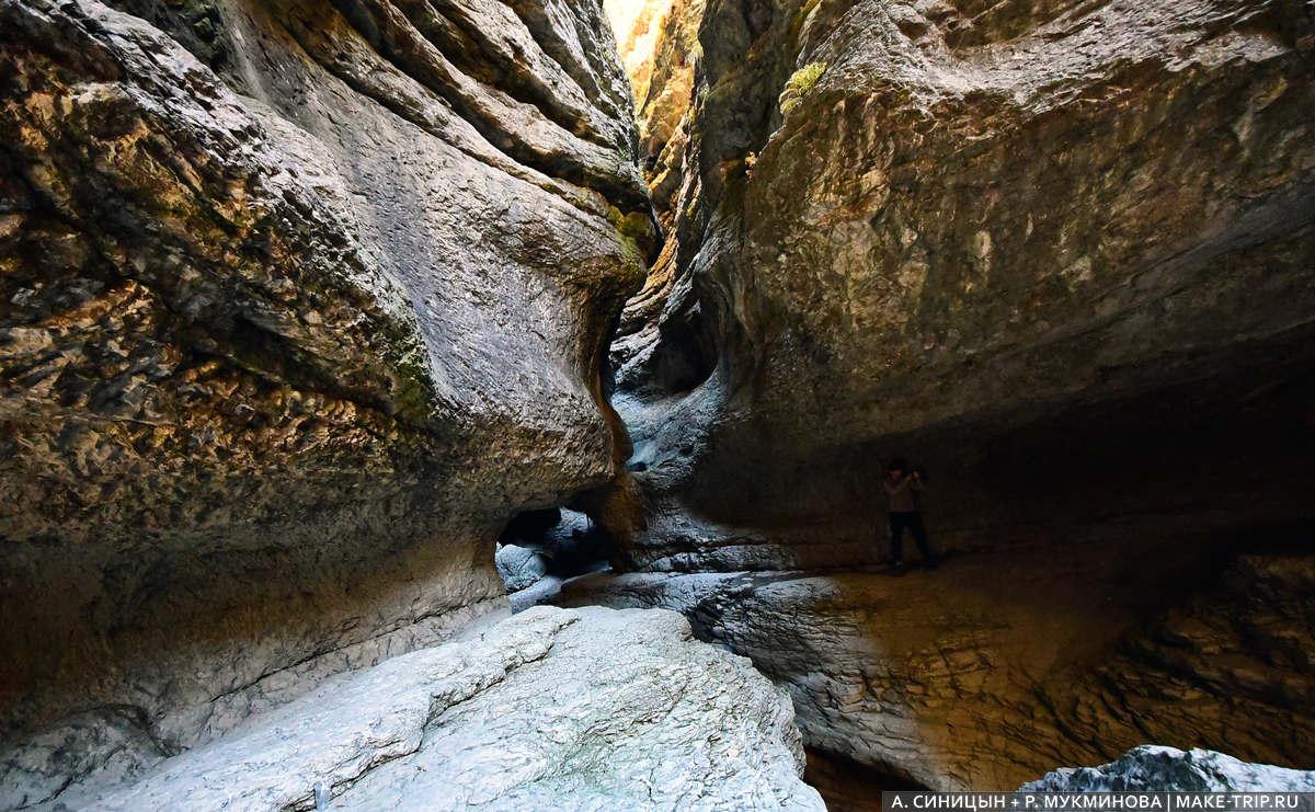 Салтинский подземный водопад, Дагестан