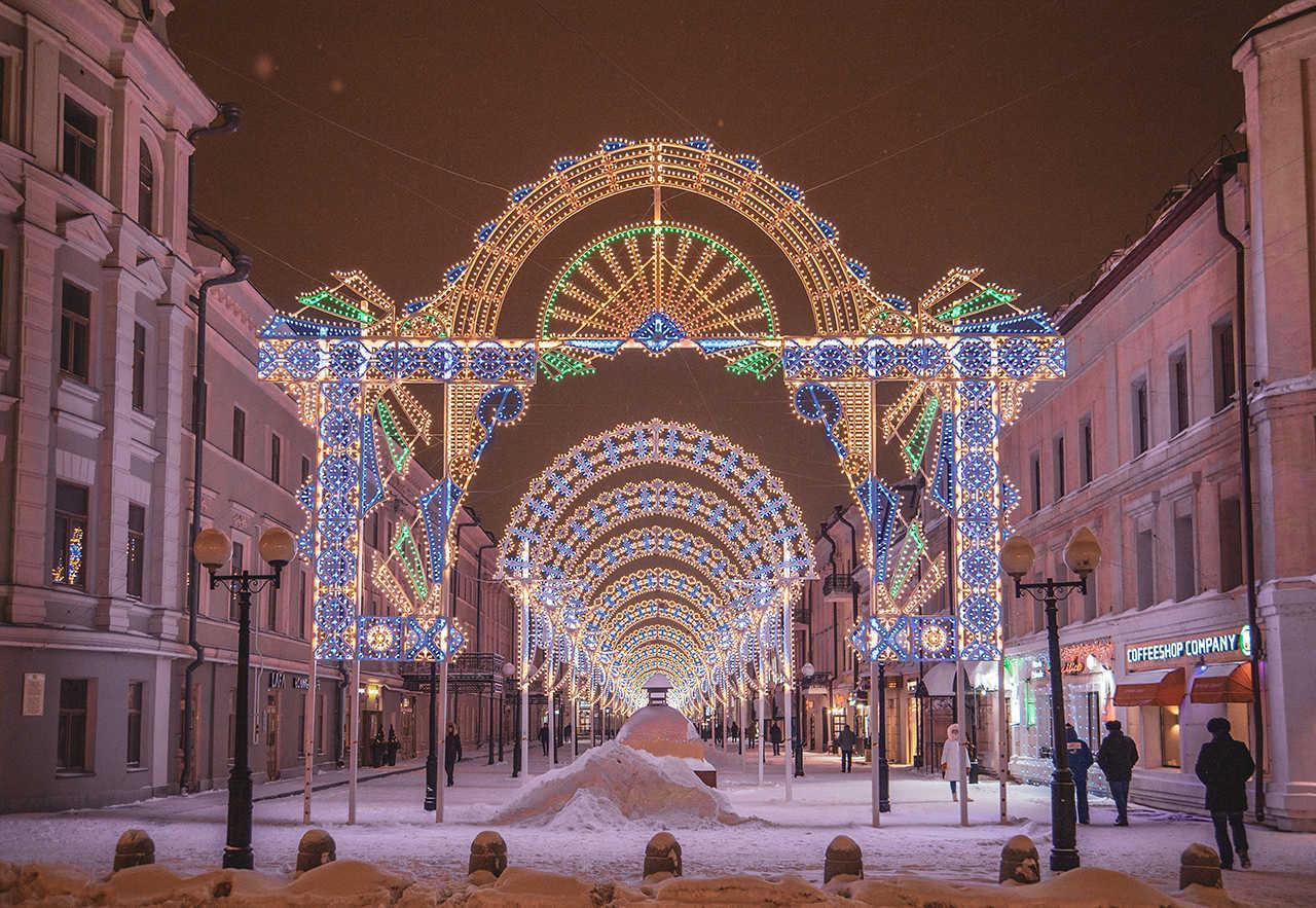Чем заняться в Казани зимой