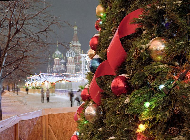 отдых в москве на новый год