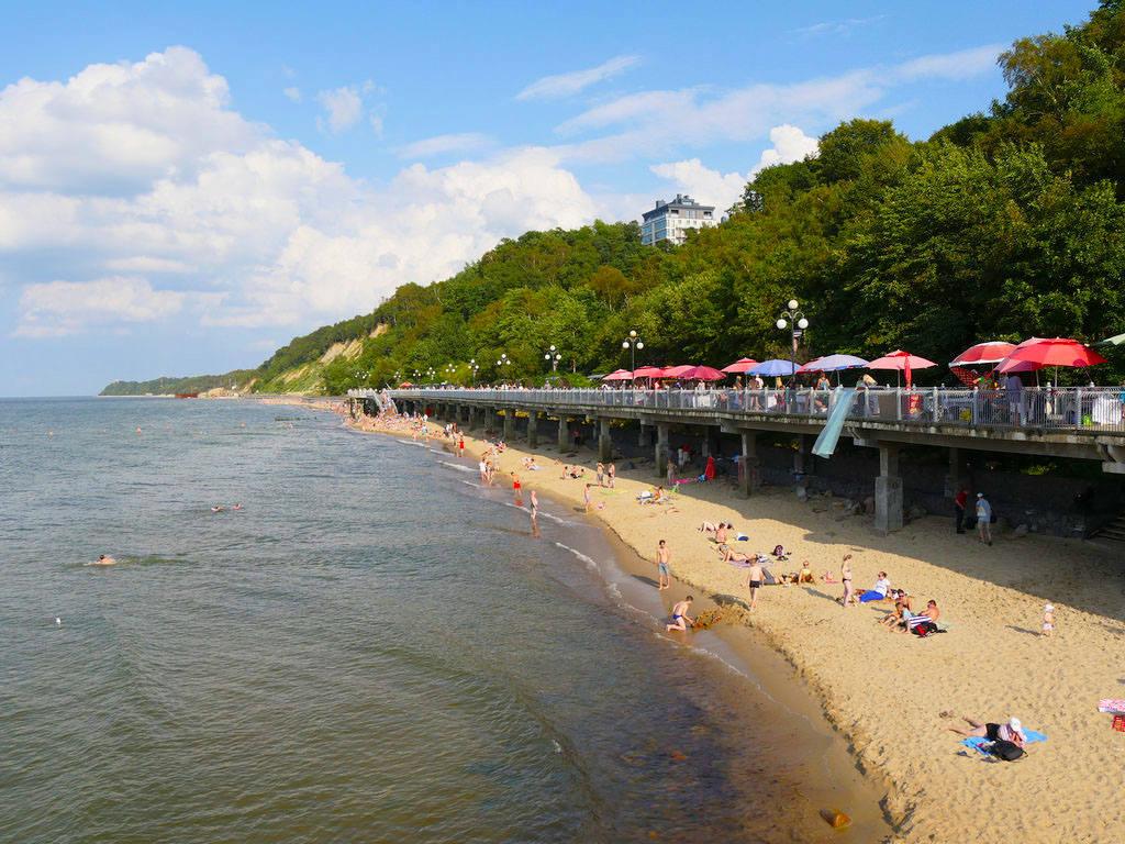 Какие песчаные пляжи есть на Балтийском море