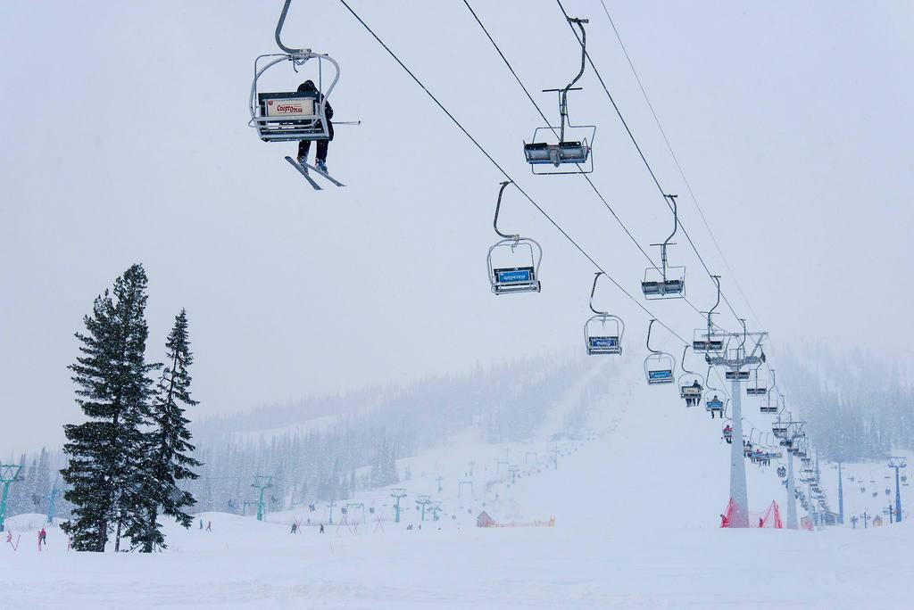 Фото горнолыжного курорта Шерегеш