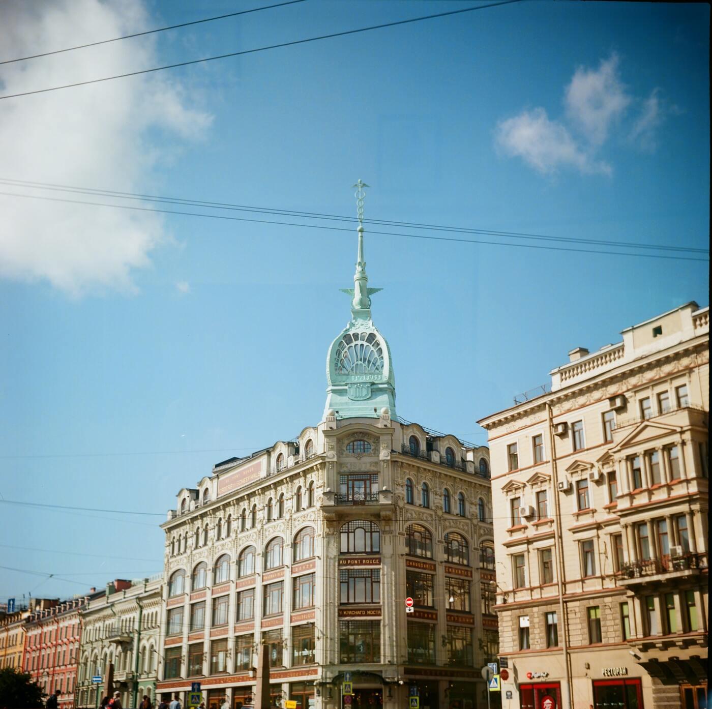 Интересные туристам места в Петербурге