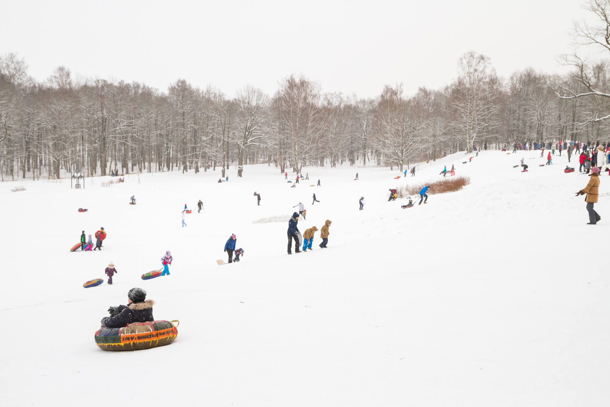Где покататься зимой в Петербурге