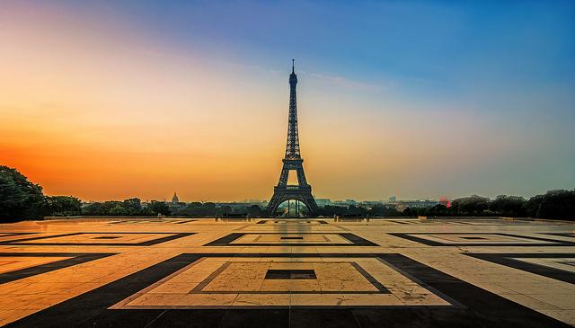 цена на билеты на самолет в париж