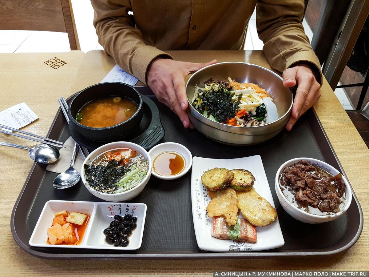 цены на еду в южной корее