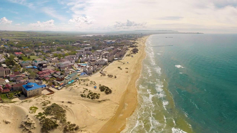 Фото песчаных пляжей Краснодарского края