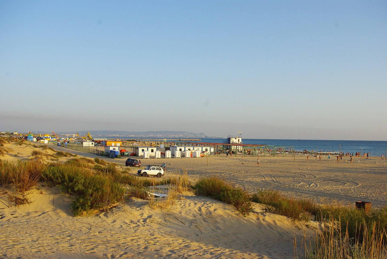 Лучшие песчаные пляжи Краснодарского края
