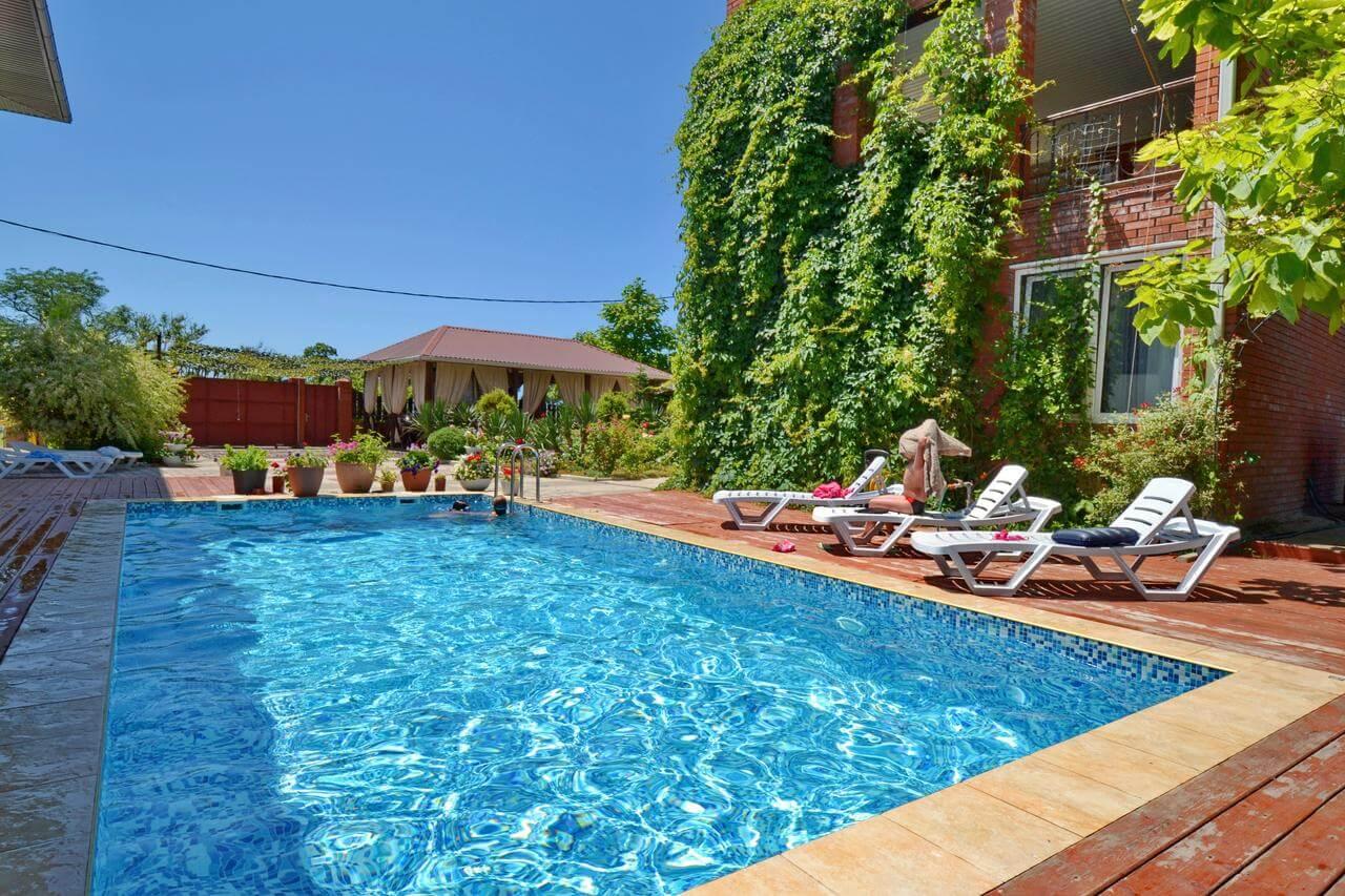 Лучшие отели Геленджика с теплым бассейном