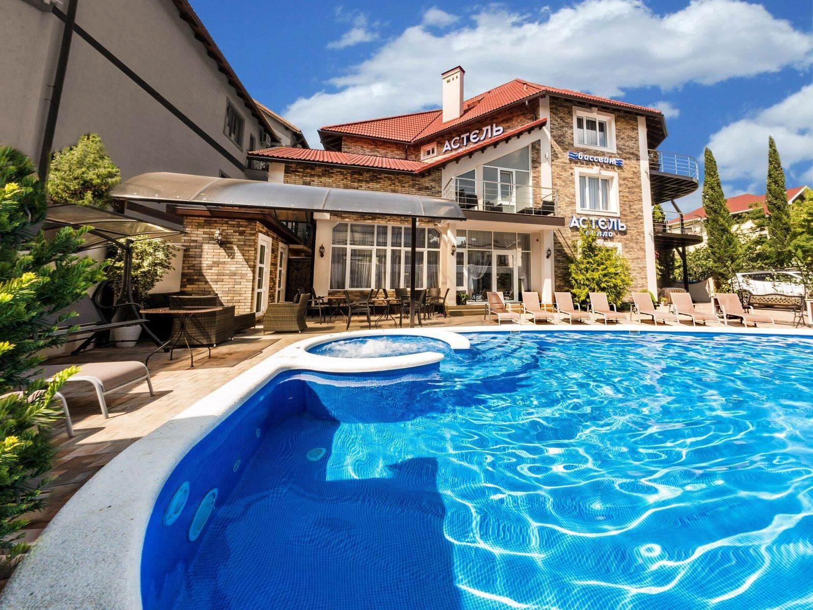 Отели Геленджика с теплым бассейном
