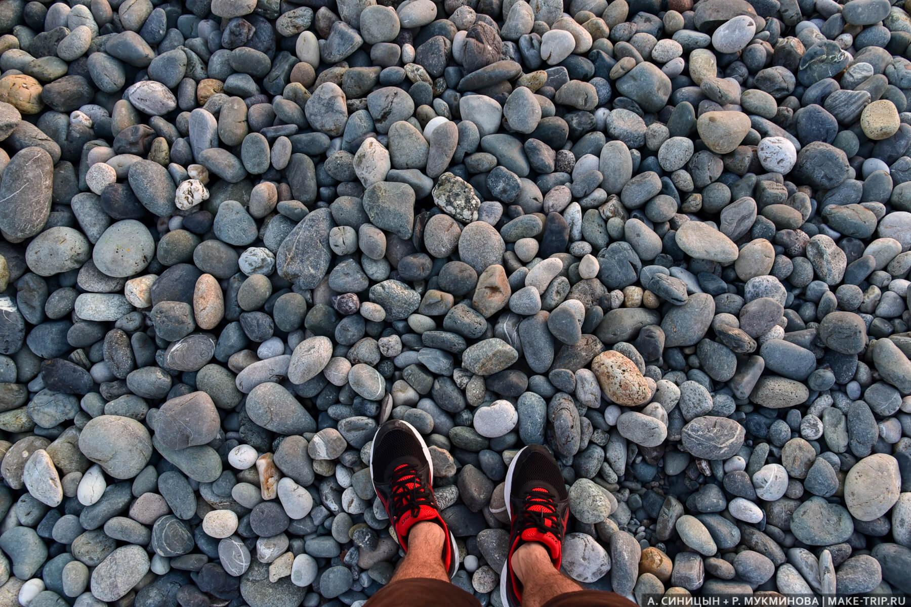 Пляж в Имеретинской бухте