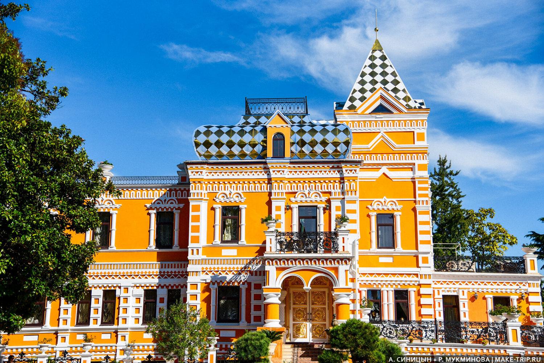 Дача Хлудова в Сочи