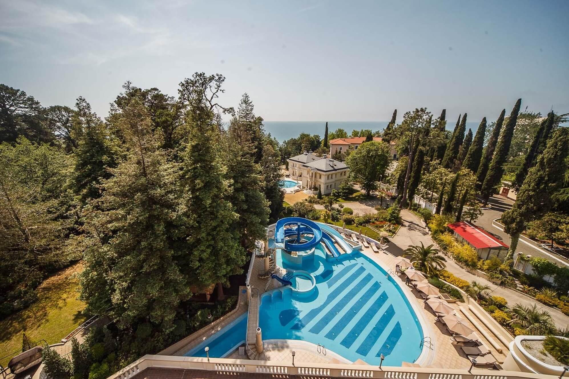 Отели в Сочи с открытым подогреваемым бассейном