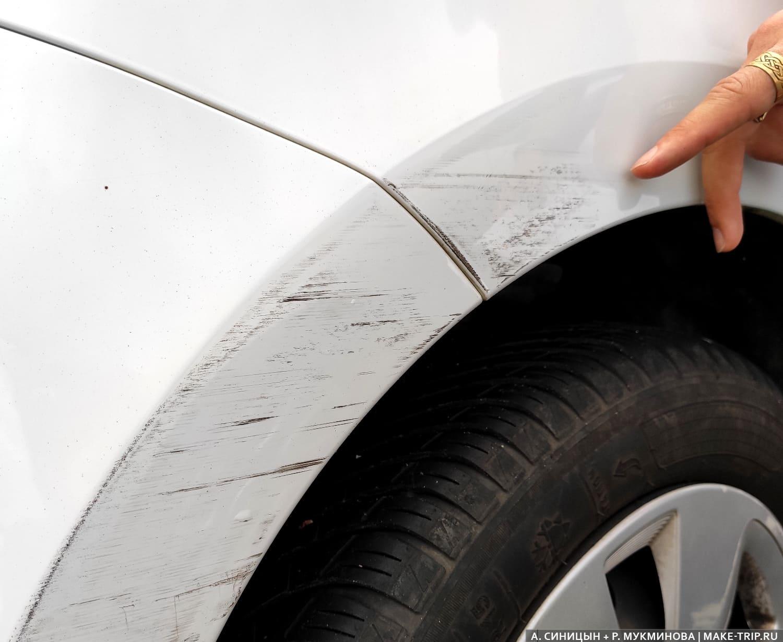 Получение автомобиля на прокат