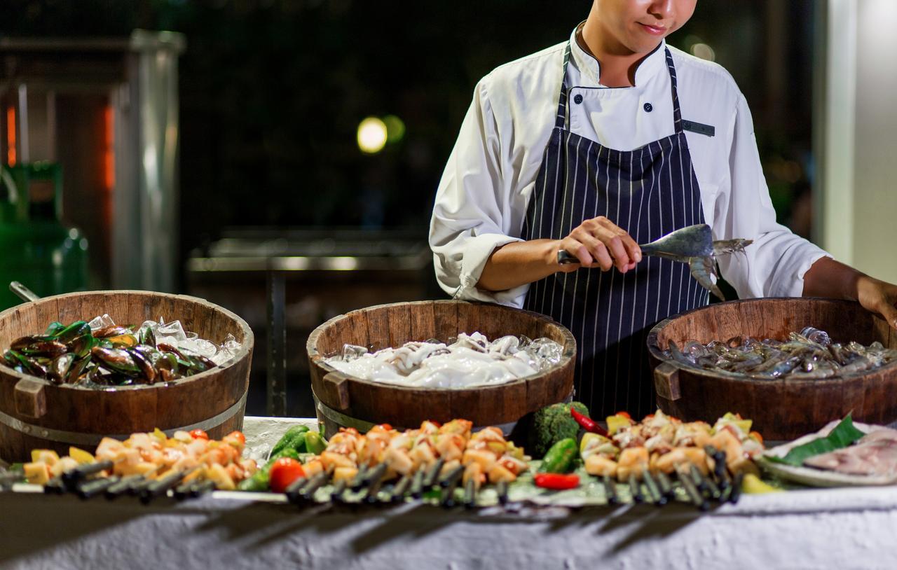 Питание в отелях Азии