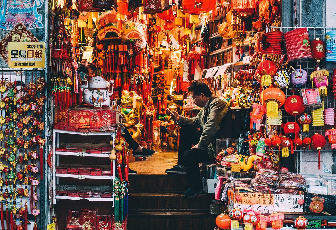 Цены на одежду и сувениры в Китае