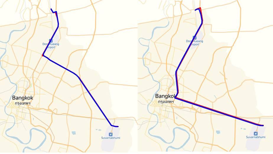 Как добраться из аэропорта Бангкока в город